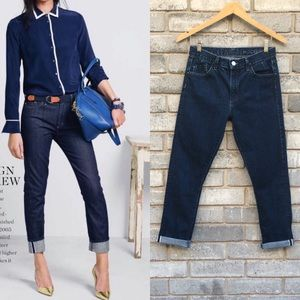 Goldsign for J.Crew Jeane Ankle Jeans High Rise